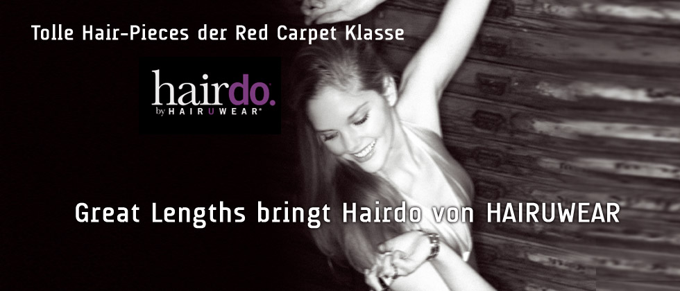 Tolle Hair-Pieces der Red Carpet Klasse:  (&copy HAIRUWEAR)