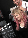 Styling Videos Backstage - Klappe:  (&copy e-dvertising)