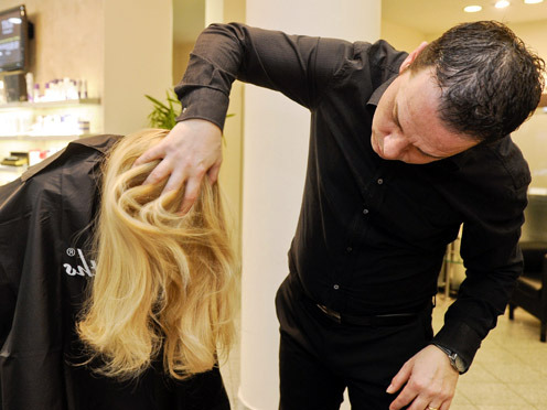 Vassiliki mit den Traumextensions von Great Lengths (© Great Lengths)