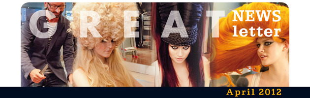 Newsletter Header Perücken:  (© Great Lengths)