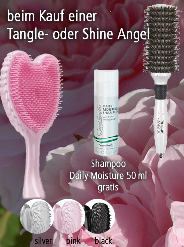 Muttertagsaktion mit Tangle und Shine Angel (© Great Lengths)