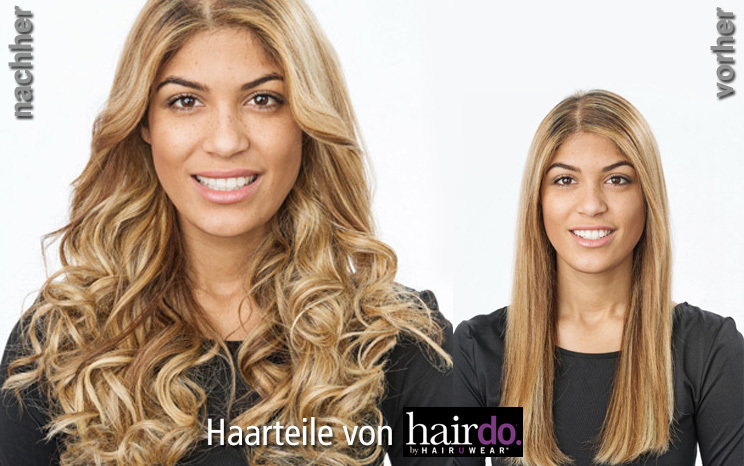 Haarteile von hairdo - 23 inch Wavy Extension (© Great Lengths)