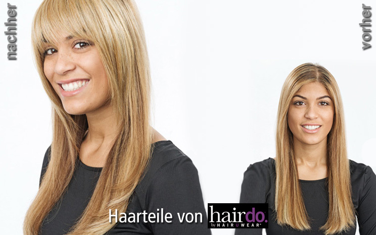 Haarteile von hairdo -  Swept Away  Bang (© Great Lengths)