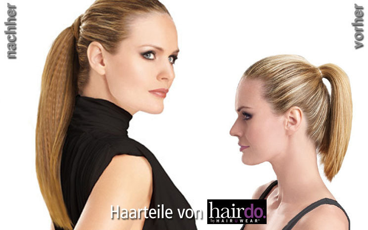 Haarteile von hairdo - Simply Straight Pony (© Great Lengths)