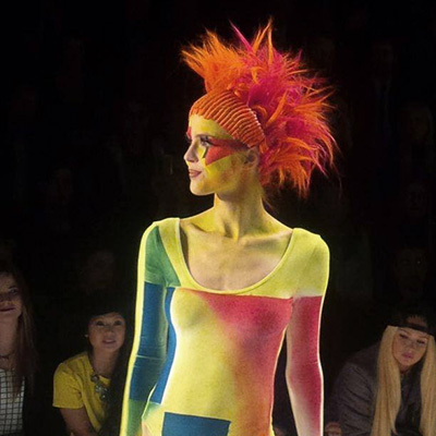 Maybelline Make-Up Runway auf der Berlin Fashion Week (© Great Lengths)