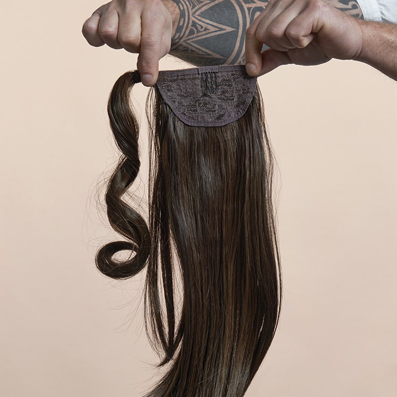 Simply Straight Pony (© Great Lengths)