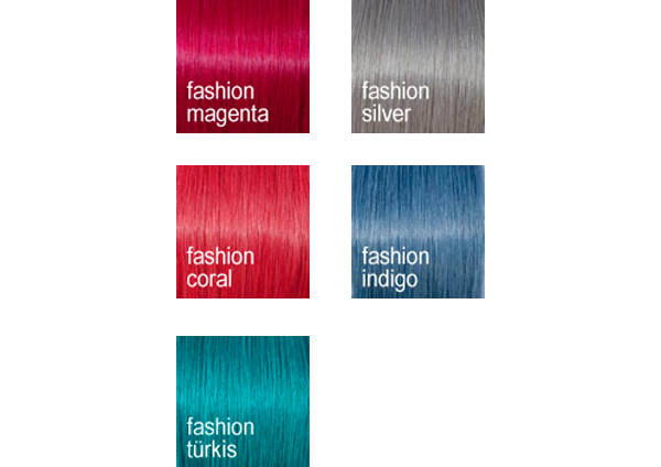 Fashion Farben, trendig und verspielt (© Great Lengths)