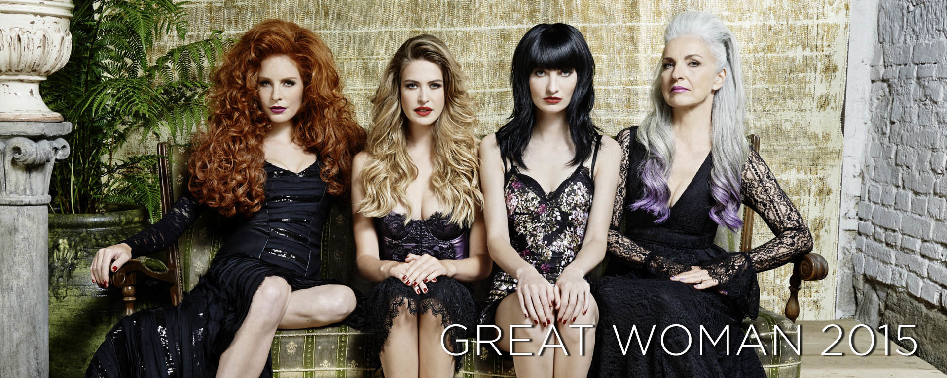 Great Woman 2015 . Frisuren . Trends . 2015 (© Great Lengths)