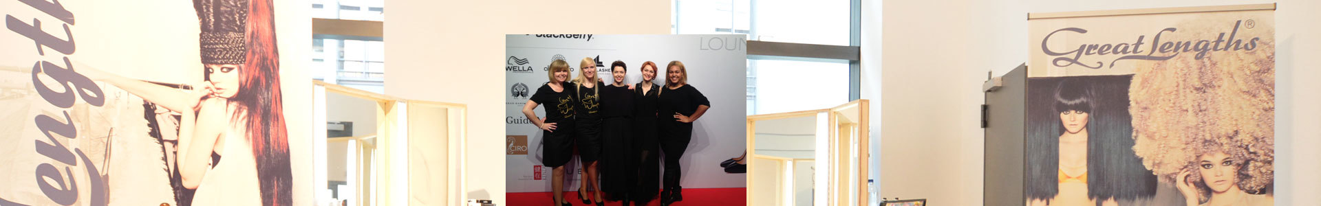 Beauty & Fashion Lounge auf der Fashion Week Berlin (© Great Lengths)