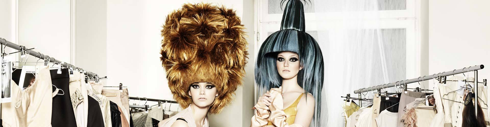 Big Hair bei Germany's next Topmodel (© Great Lengths)