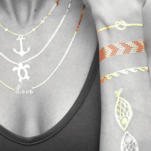 TASSEL Tattoos - Flash Tattoos (© Great Lengths)