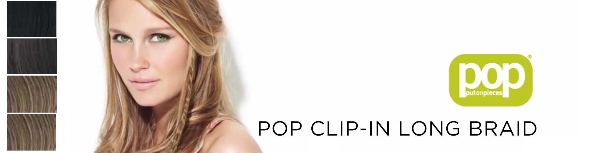 POP Clip-In Long Braid (© Great Lengths)