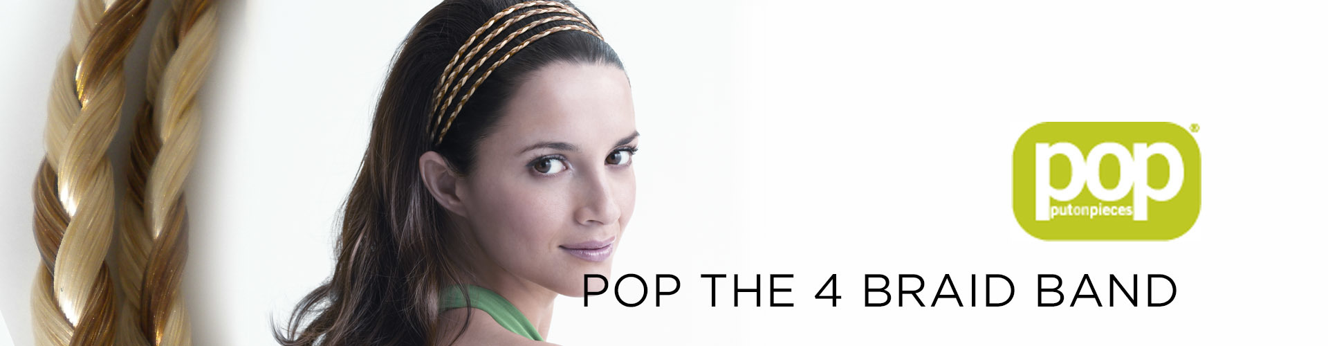 POP The 4 Braid Band (© Great Lengths)