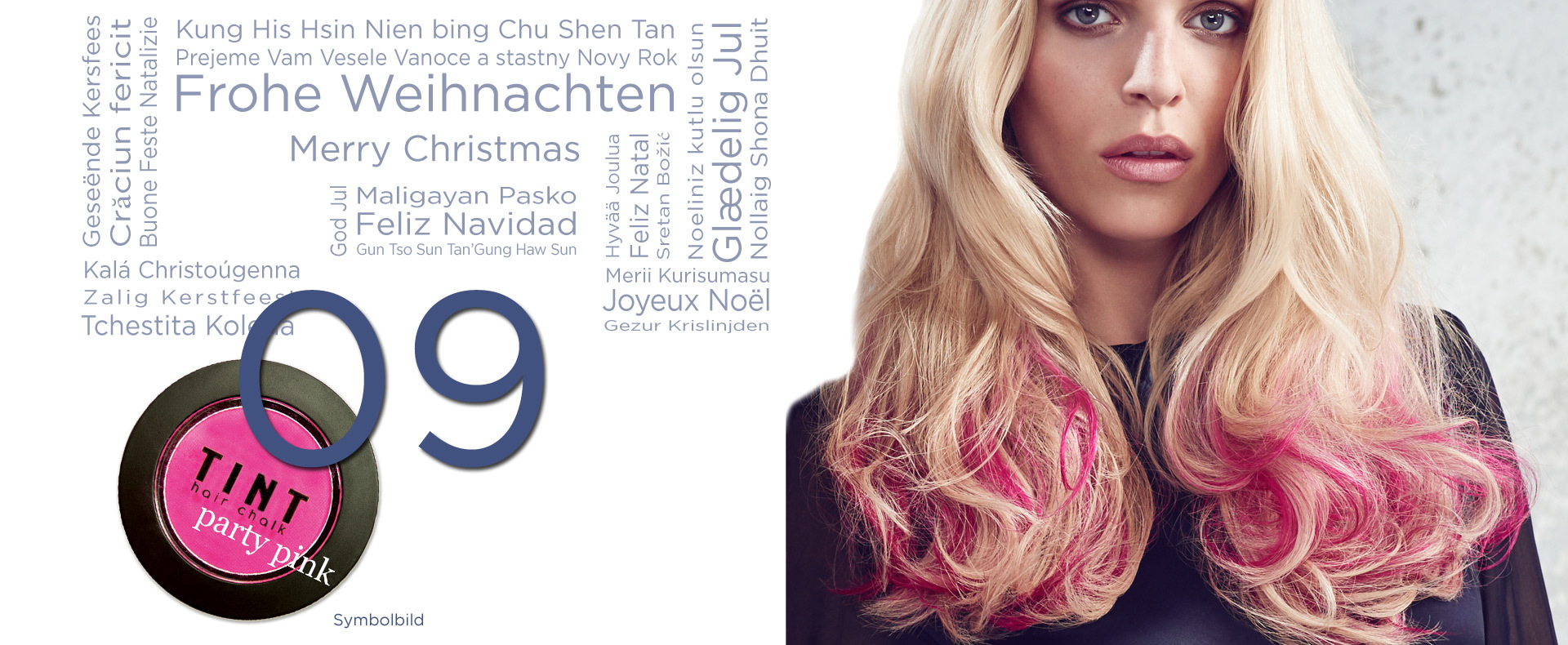 9. Dezember, die TINT Haarkreide (© Great Lengths)