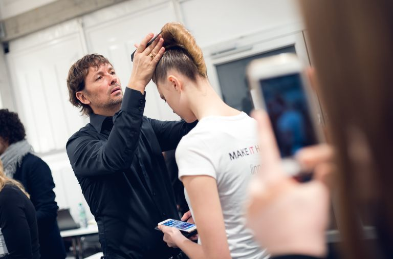 Mercedes Benz Fashion Week (© André Märtens für L'Oréal Professionnel)