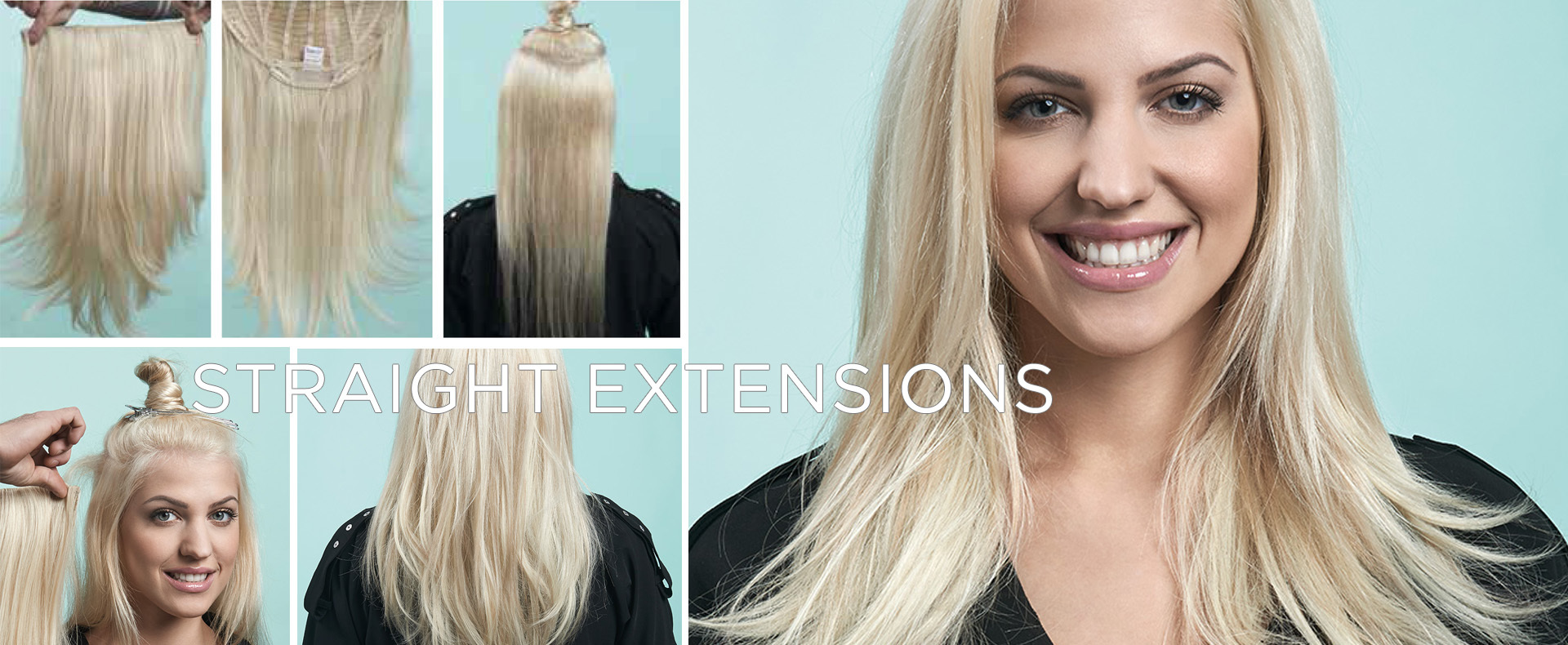 STRAIGHT EXTENSION (© Great Lengths)