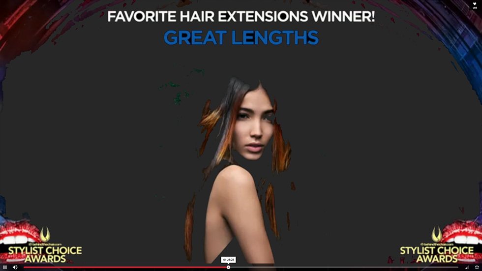FAVORITE HAIR EXTENSIONS WINNER (© http://www.behindthechair.com/displayarticle.aspx?ID=4520&ITID=1)