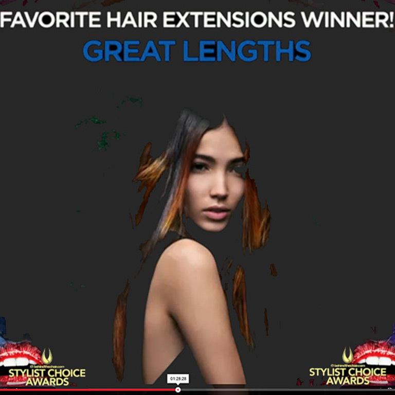Stylist Choise Award 2016 (© Great Lengths)