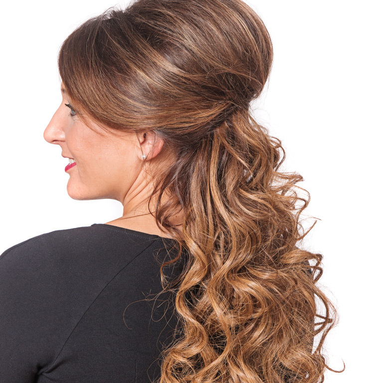 Great Lengths Umstyling für Carmen (© Great Lengths)