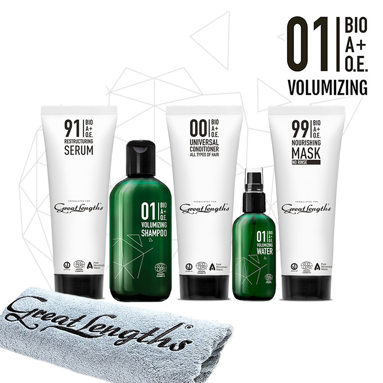 BIO A+O.E. 01 Voluminizing Treatment. (© Great Lengths)