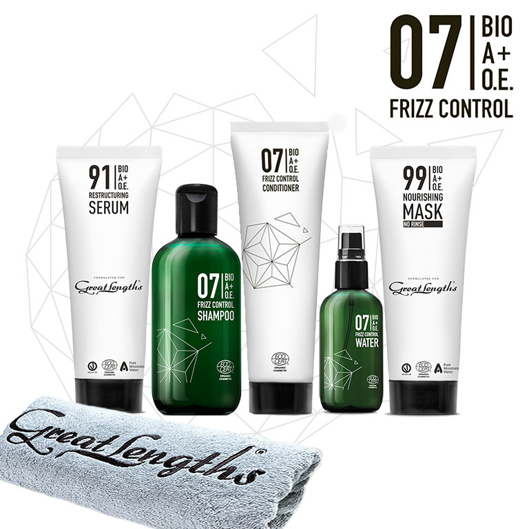 BIO A+O.E. 07 Frizz Control Treatment. (© Great Lengths)