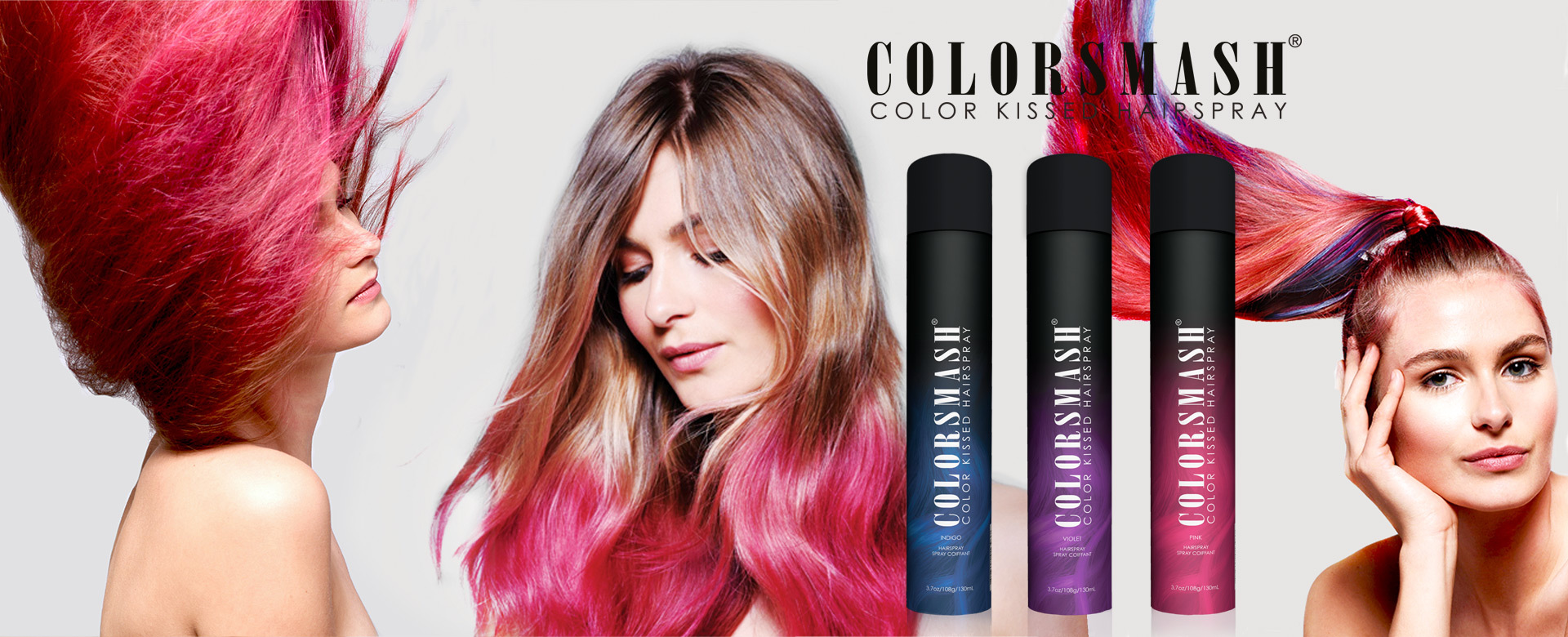 COLORMASH Haar Farbsprays!. (© Great Lengths)