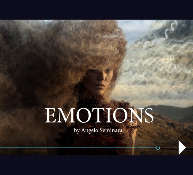 Emotions by Angelo Seminara (© Angelo Seminara is using Davines products)