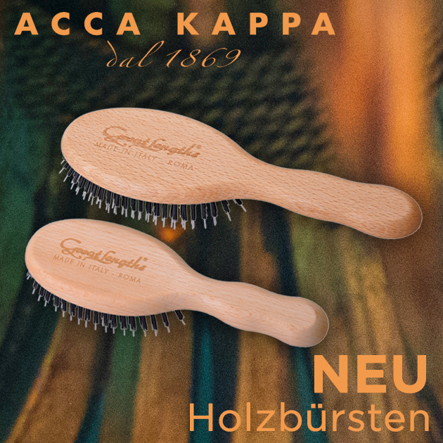 ACCA KAPPA Holzbürsten (© Great Lengths)