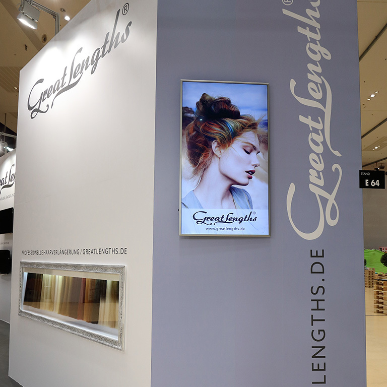 HAIR Festival Graz, Great Lengths auf der Messe (© Great Lengths)