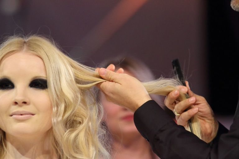 Boris Entrup, Show Act auf dem Hair Festival (© Great Lengths)