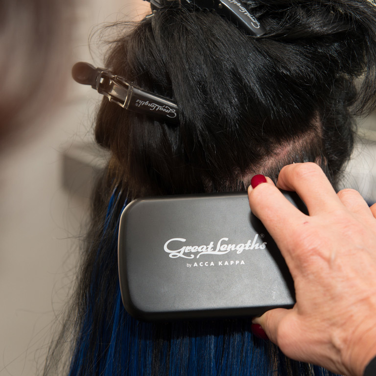 Great Lengths Expertin Sabine Bern, Krefeld (© Great Lengths)