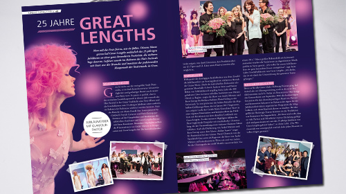 Magazin Changes - 25 Jahre Great Lengths (© Great Lengths)