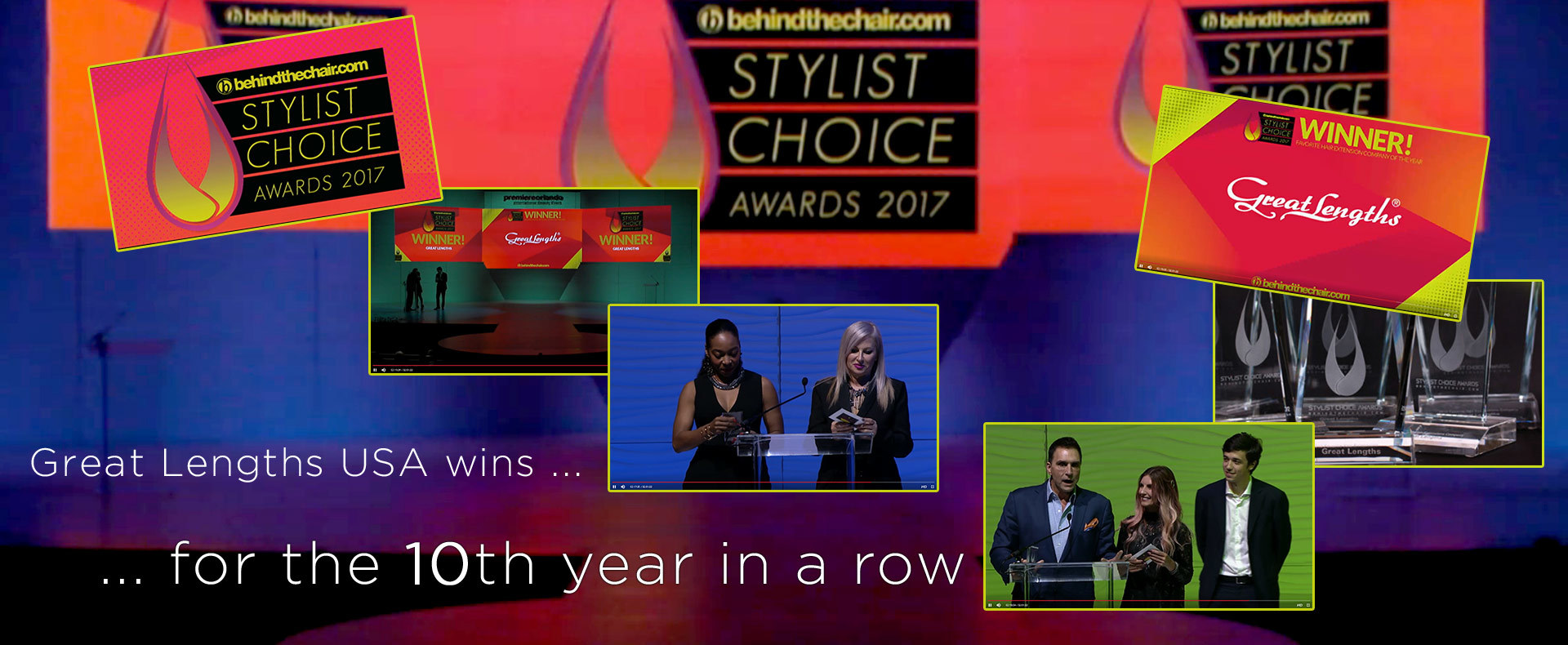 Great Lengths USA wins for the 10th year in a row (© Great Lengths)