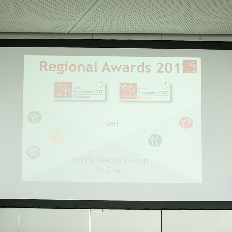 Regional Awards 2017 - Preis für Great Lengths (© Great Place to Work)