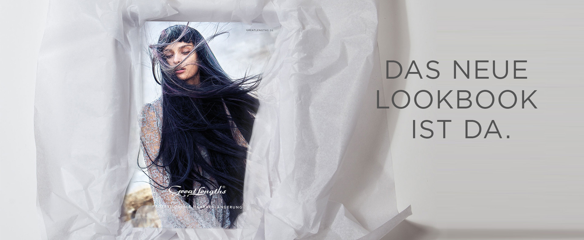 Das neue Lookbook ist da! (© Great Lengths)