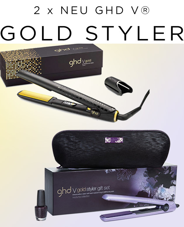 2 x NEU - ghd V® gold Styler bei Great Lengths (© Great Lengths)