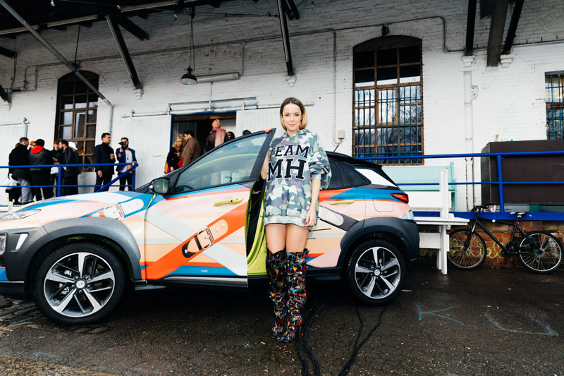 Marina Hoermannseder loves Hyundai (© Paul Aidan Perry)