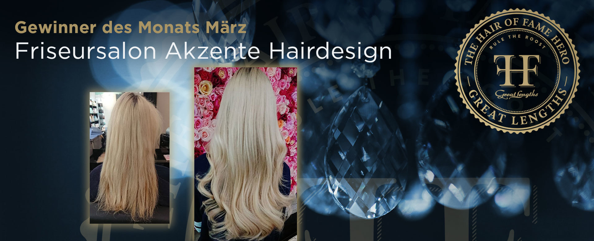 Hair-of-Fame Hero Monat März 2018 (© Great Lengths)