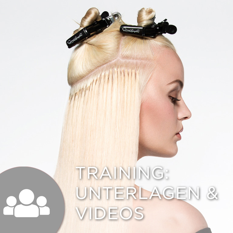 Trainingsunterlagen & Trainingsvideos für Partner (© Great Lengths)