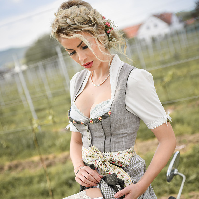 Wiesn-Trends, angesagte Flechtfrisuren (© Great Lengths)