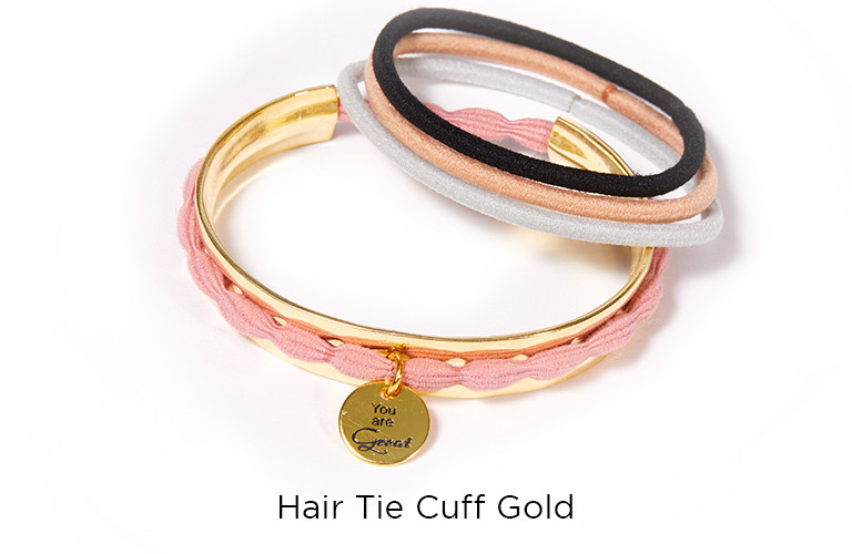 Exklusive Hair Tie Cuffs (© Great Lengths)