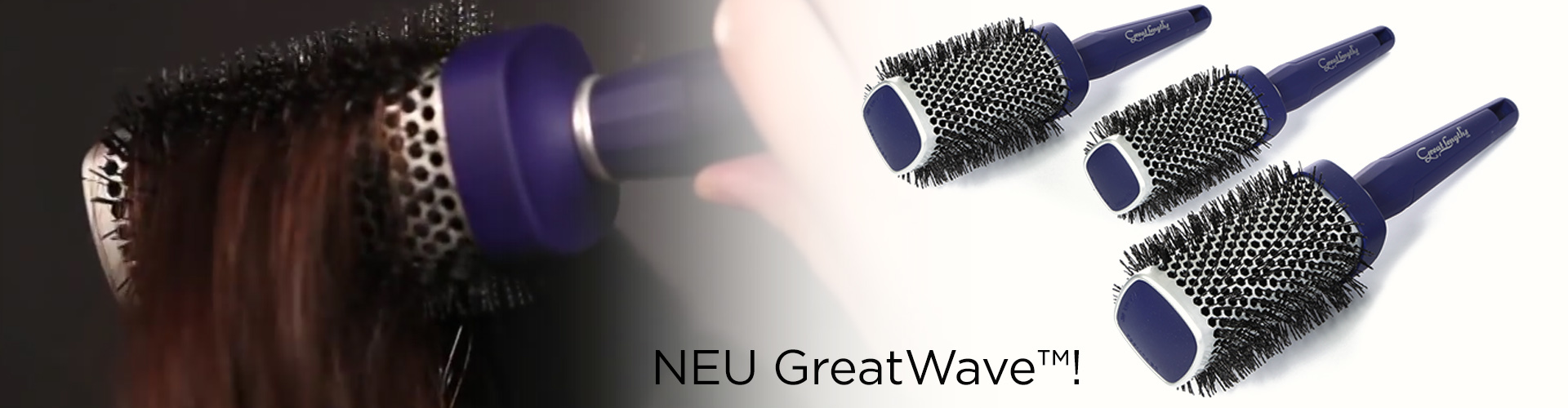 GreatWave™! Die neuen Bürsten direkt aus den USA (© Great Lengths)