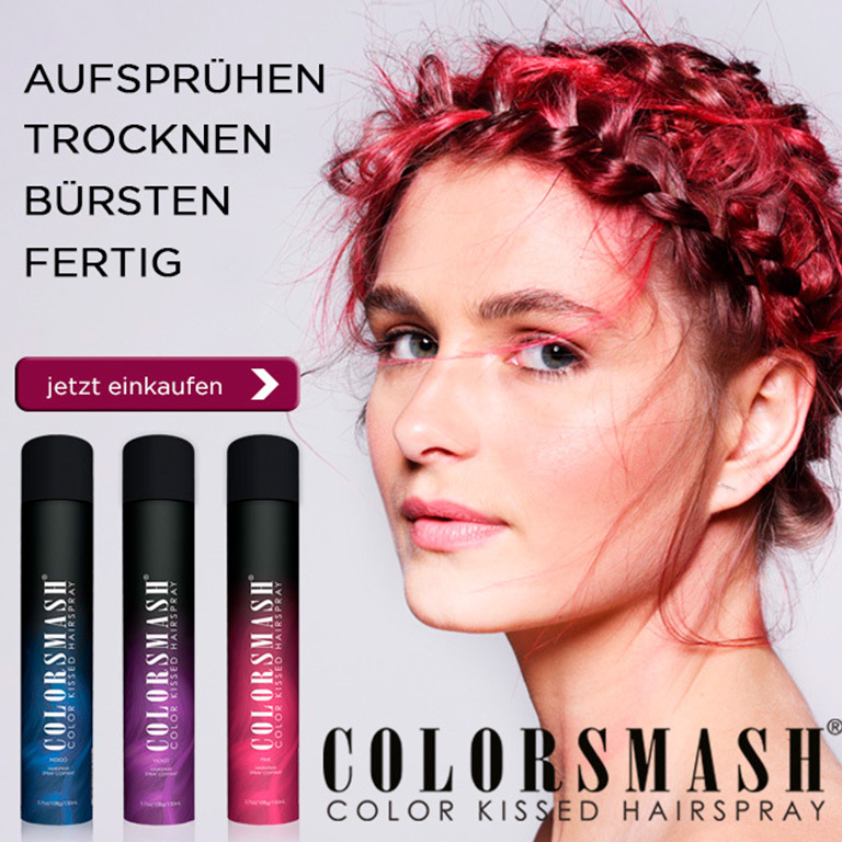 COLORSMASH Haar Farbsprays! (© Great Lengths)