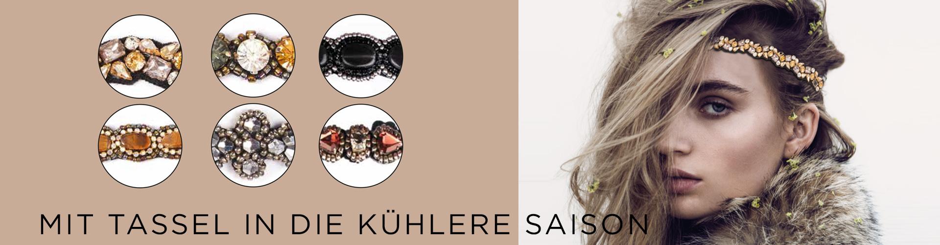 TASSEL, Headband . Winterzeit (© Great Lengths)