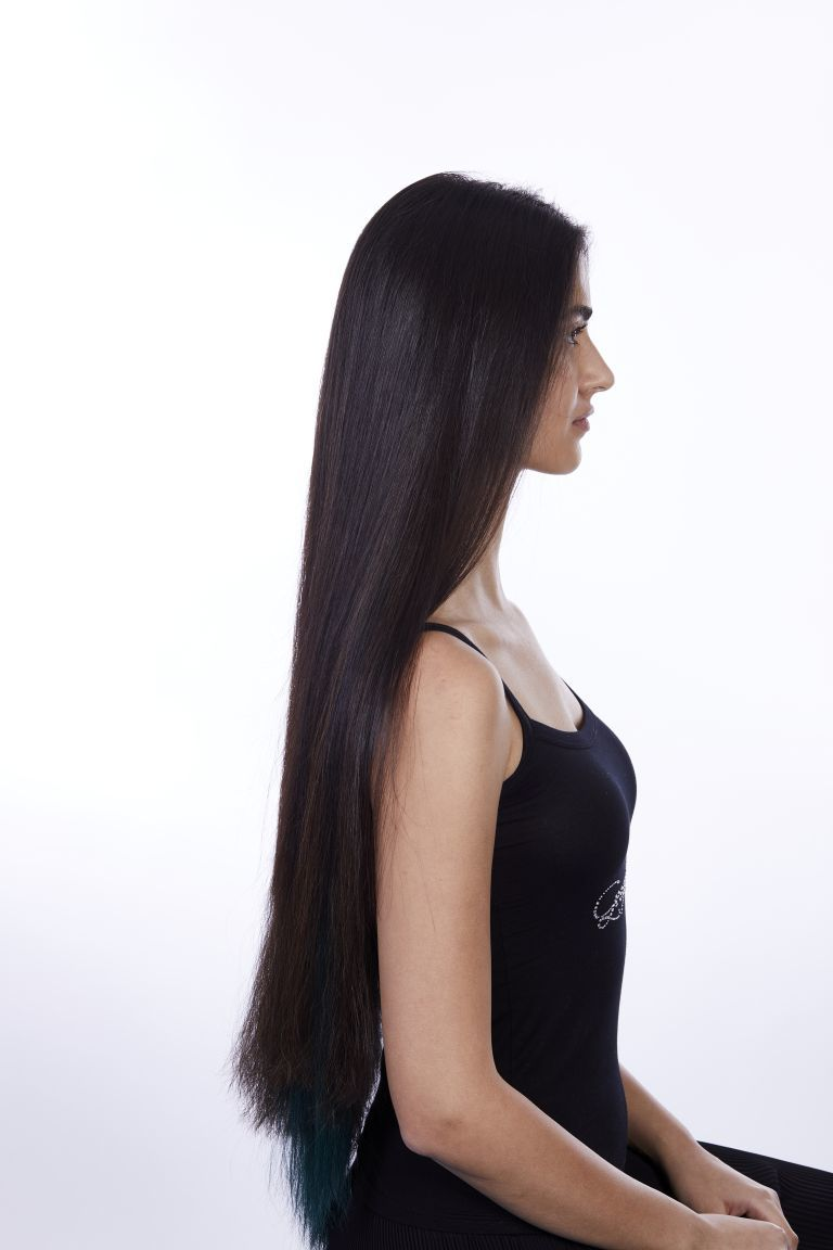 Priya - Volumen und raffinierte Farbeffekte:  (© © Great Lengths)