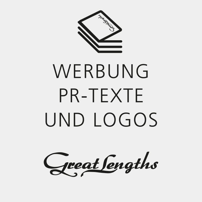 Werbung, PR-Texte und Logos (© Great Lengths)