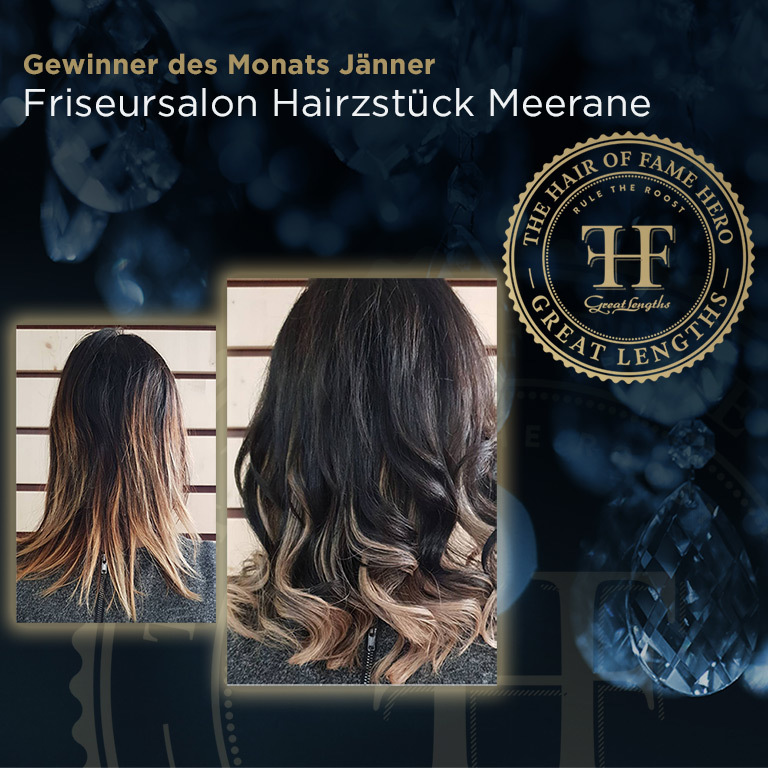 Hair-of-Fame Hero Monat Jänner 2019 (© Great Lengths)