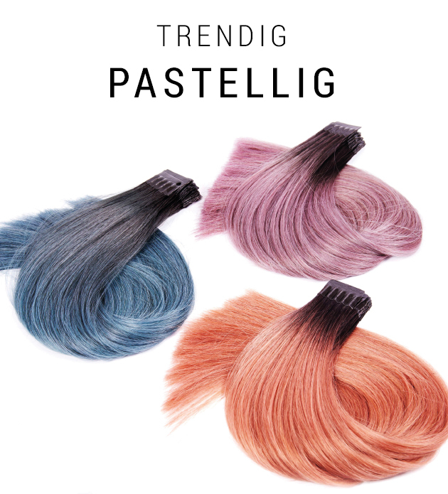 Trendig - pastellig (© Great Lengths)