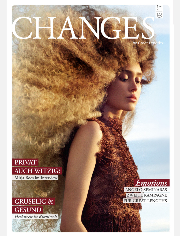 Changes 03|2017:  (© Great Lengths)