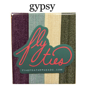Fly Ties Haarbänder Farbe: gypsy:  (© Great Lengths)